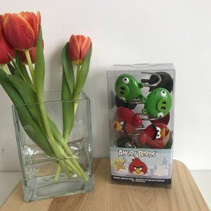 Set of 12 Angry Birds Shower Rings - NWT